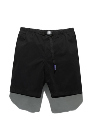 Fluke 11Inch Long Strap Shorts FSP017C101 (BLACK)