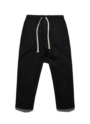 FROMATOBE to B Banding Baggy Pants - TOB17JP501BK