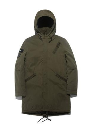 Nipseu wax coating M-65 Long field jacket Jacket NY016C6601