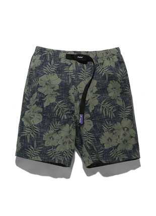 Fluke 11Inch Long Strap Palm Trees Shorts FSP017C102 (2color)