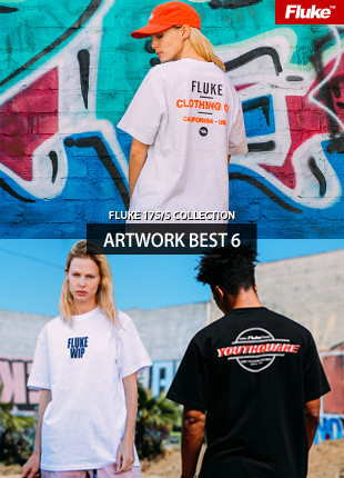 Fluke Artwork Short Sleeves T-shirt BEST 6