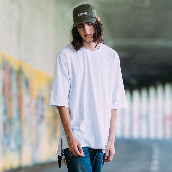 Fluke Standard overfit Bottom Short Sleeves T-shirt FOT017C002