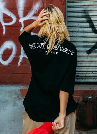 Fluke Youth Quake Arch Logo overfit Part 5 Short Sleeves T-shirt FOT017C505