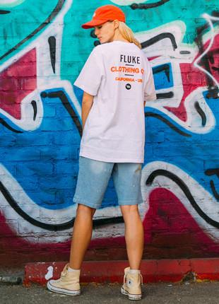 Fluke California Artwork Short Sleeves T-shirt FST017C123