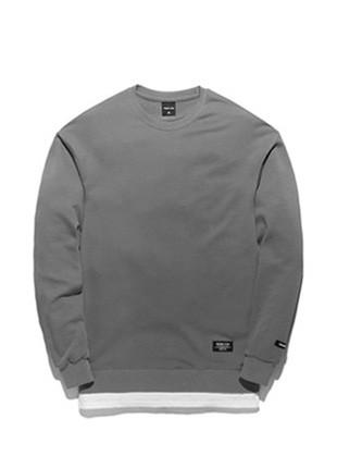 Forebee Tobee Pigment layered sweatshirts TOB17MT302GY