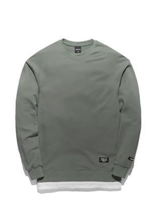 Forming Toe Pigment layered sweatshirts TOB17MT302KK