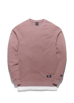 Forming Toe Pigment layered sweatshirts TOB17MT302PK