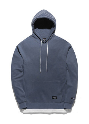 Forme To Tobi Pigment layered Hooded T-Shirt TOB17HT202BL