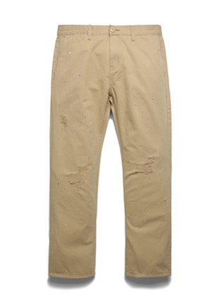 Fluke Damage Cotton Pants FJ017Z910