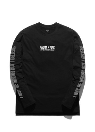 Promi A Tobii Way Of Life Long Sleeve T-shirt TOB17LT501BK