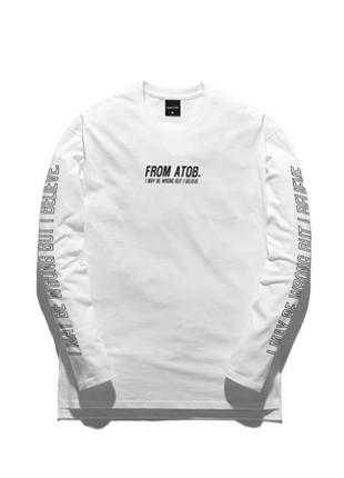 Promi-i Toby Way Of Life Long Sleeve T-shirt TOB17LT501WH