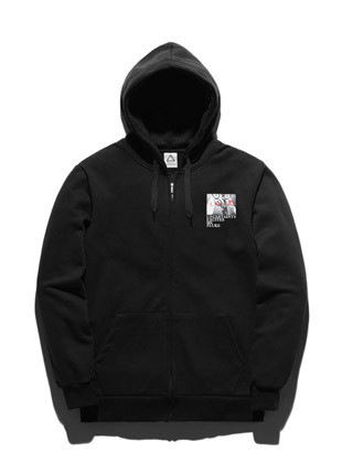 Fluke Behind Hoodies zip up FZT017C131