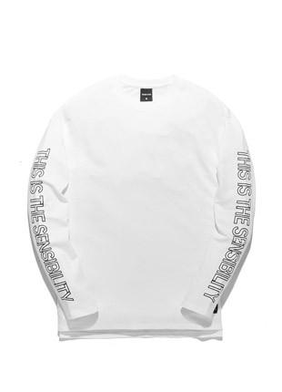 Long sleeve T-shirt TOB17LT001WH