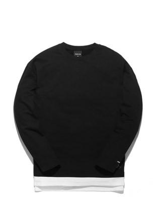 Long sleeve T-shirt TOB17LT002BK