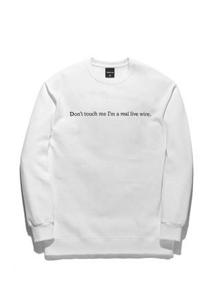 Forbid Tobby Psycho Killer sweatshirts TOB17MT341WH