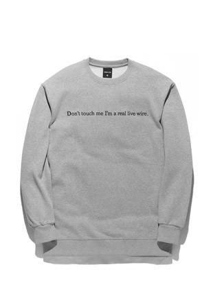 Forbid Tobby Psycho Killer sweatshirts TOB17MT341GY