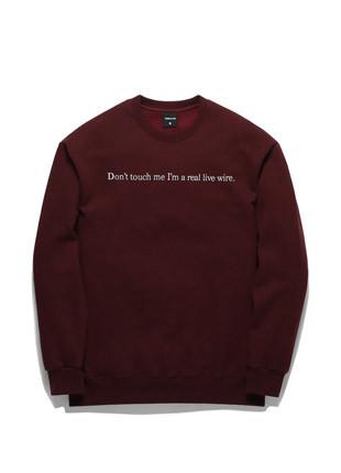 Forbee Tobby Psycho Killer sweatshirts TOB17MT341WN