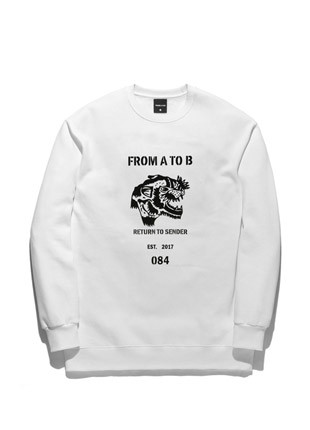 Forbee Tobee Tiger sweatshirts TOB17MT345WH