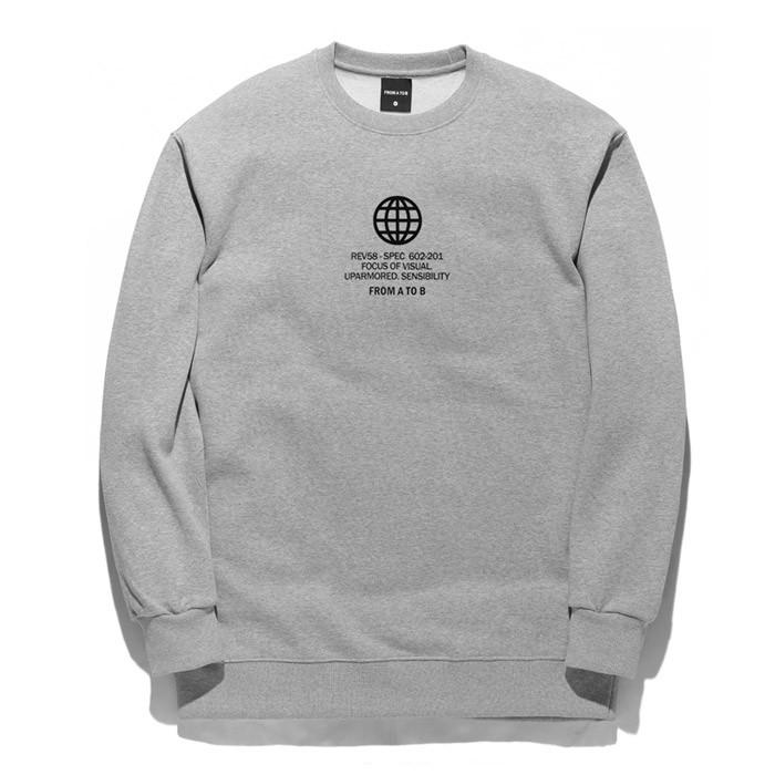 Forbee Tobby Circle sweatshirts TOB17MT346GY