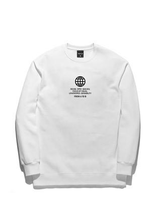 Forbee Tobby Circle sweatshirts TOB17MT346WH