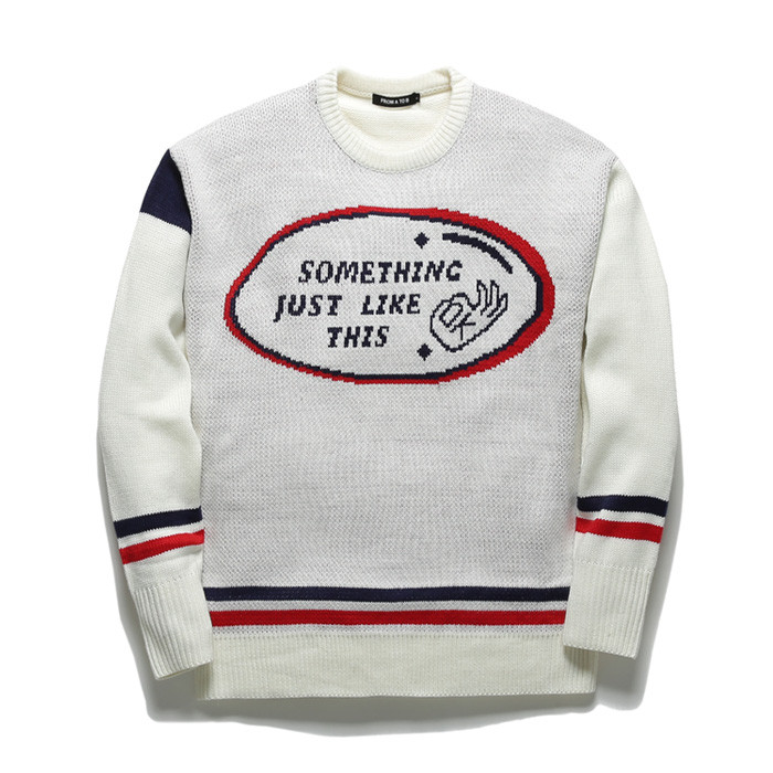 Promotee Toby's thumbtack overfit Knit TOB17ZNT503WH