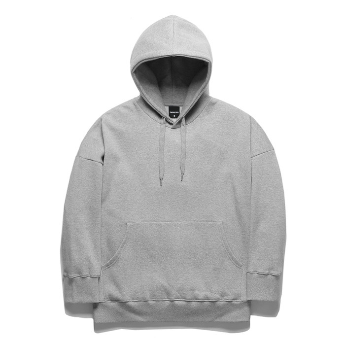 Promi-e Tibi OVER logo Hooded T-Shirt TOB17HT245GY