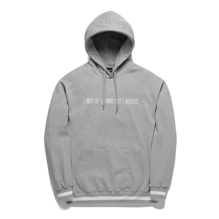 Promotee Tobii Standard logo Hooded T-Shirt TOB17HT244GY