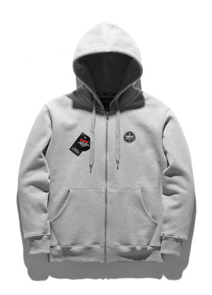 Fluke primium original Hoodies zip up FZT017C100