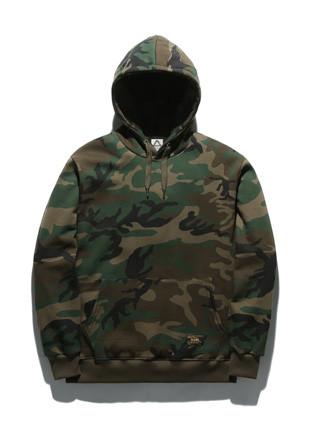 Fluke Standard Camo Hooded T-Shirt FHT018C245
