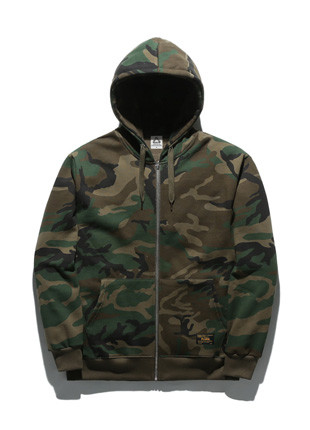 Fluke Standard Camo Hoodies zip up FZT017C135