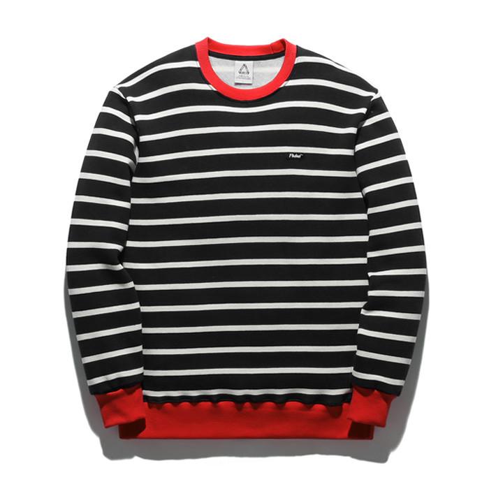 Fluke Arrange Stripe sweatshirts FMT018C351