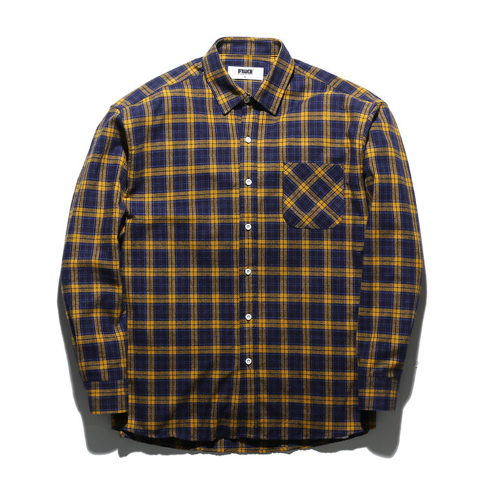 Fluke Check Shirt FLS017Z304
