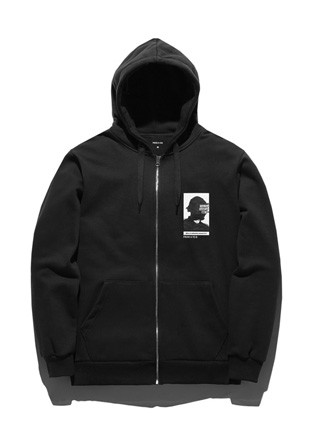 Forbee Tobby Prototype Hoodies zip up TOB17ZT140BK