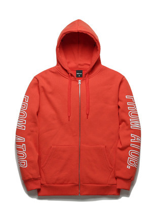 Hoodies zip up TOB17ZT142RD