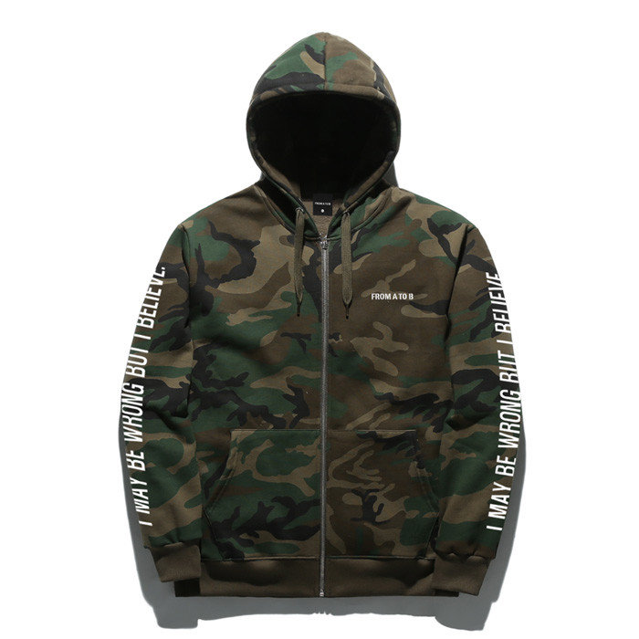 Forme To Tobby Combo Camo Hoodies zip up TOB17ZT143CM
