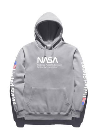 Fluke Spaceman Hooded T-Shirt FHT018C262