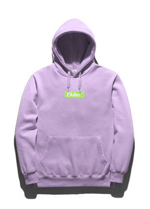 Fluke Box Logo Hooded T-Shirt FHT018C268