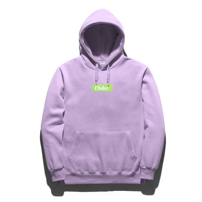 Fluke Box Logo Hooded T-Shirt FHT018C268