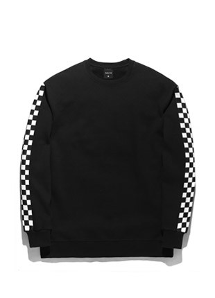 Forbee Tobey Checker Backside sweatshirts TOB18MT004