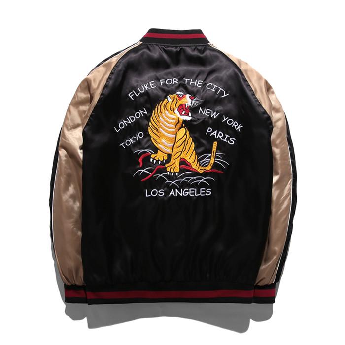 Fluke Bag Tiger Scarf Jumper FSK018C003