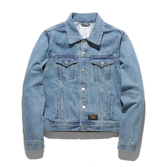 Formae Tobi Damage Washing Denim Jacket TOB18ZDJ502