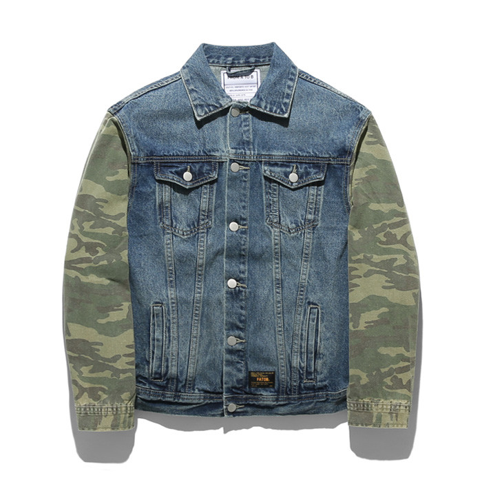Forme Tobikamo Damage Denim Jacket TOB17ZDJ504