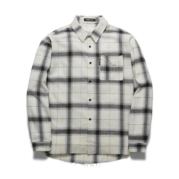 Forebee Tobby Safety pin Check Shirt TOB18ZLS505