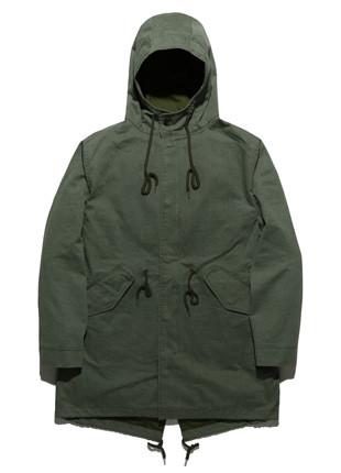 Fluke N-3B Pigment Long field jacket Jacket FYJ018C002
