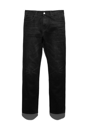 Fluke Fairfax Black Washing denim jeans FDP018C103