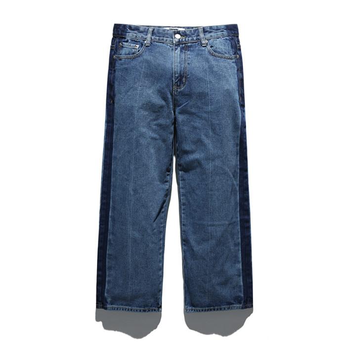 Fluke wide line denim jeans FDP018C111