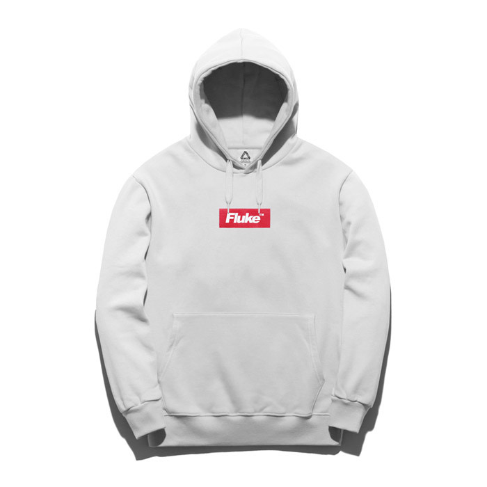 Fluke Box Logo Hooded T-Shirt FHT017C205