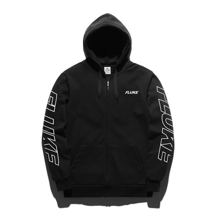 Fluke SB line logo Hoodies zip up FZT017C141