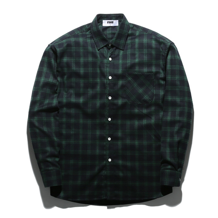 Fluke Check Shirt FLS017Z305