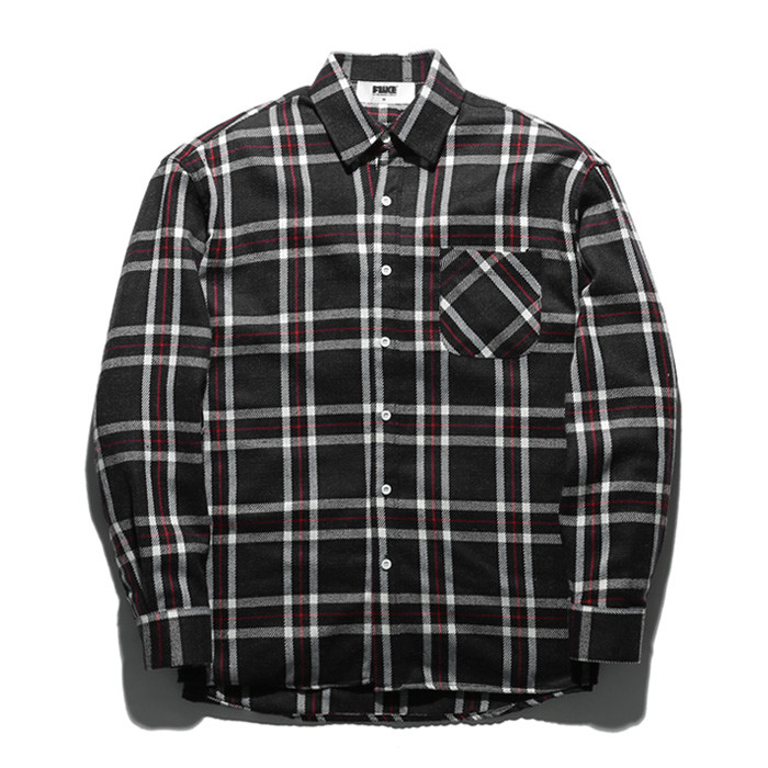 Fluke Check Shirt FLS017Z306
